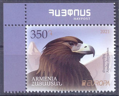 2021. Armenia, Europa 2021, 1v,  Mint/** - Armenien