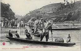 ASIE - CHINA - CHINE - Haut YAN T'SE  - LA PECHE Aux  CORMORANS - Pesca
