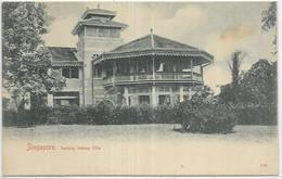 SINGAPOUR. TANJONG  KATONG VILLA - Singapour