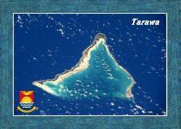 Kiribati Tarawa Atoll Satellite View New Postcard - Kiribati