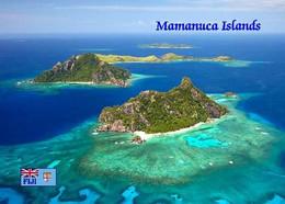 Fiji Mamanuca Islands Aerial View New Postcard Fidschi AK - Fiji
