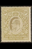 1903 20r Grey And Stone, Wmk CA, Ed VII, SG 15, Fine Mint, Glazed Gum. Scarce Stamp. For More Images, Please Visit Http: - Vide