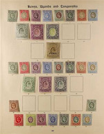 """1903 TO 1935 AMAZING MINT COLLECTION ON """"IMPERIAL"""" ALBUM PAGES. A Comprehensive Collection On 4 SG """"Imperial"""" Album Page - Vide"""