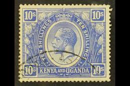 1922-27 10s Bright Blue, SG 94, Fine Used. For More Images, Please Visit Http://www.sandafayre.com/itemdetails.aspx?s=61 - Vide