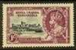 """1935 JUBILEE VARIETY 1s Slate And Purple Silver Jubilee, Variety """"DIAGONAL LINE BY TURRET"""", SG 127f, Very Fine Mint. For - Vide"""