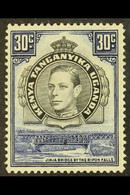 1938-54 30c Black And Dull Violet-blue, Perf 14, SG 141a, Very Fine Mint. For More Images, Please Visit Http://www.sanda - Vide
