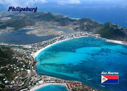 Antigua And Barbuda Philipsburg Aerial View New Postcard - Antigua & Barbuda