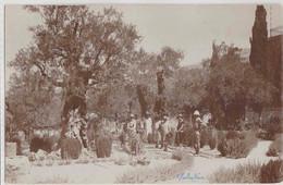 REAL POSTCARD - GARDEN - JERUSALEM - PALASTINE - 1927 - Palestine