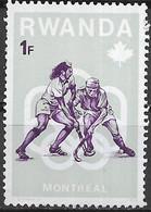 RWANDA 1976 Olympic Games, Montreal - 1f. Hockey MNH - 1970-79: Ungebraucht