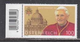 Austria 2007 - Papst Benedikt XVI, Mi-Nr. 2650, MNH** - 2001-10 Nuevos & Fijasellos
