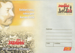 A8371-  25 YEARS SINCE THE ESTABLISHMENT, UNITED EUROPE ROMANIA POSTAL STATIONERY UNUSED ROMANIAN POSTAGE - Entiers Postaux