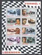Austria 2007 - Formula 1 Racing Driver, Mi-Nr. 2654/61 In Sheet, MNH** - 2001-10 Nuevos & Fijasellos
