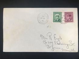 CANADA George VI Cover Dartmouth M.P.O. To St. James Manitoba - Military Post Office Cancel - Brieven En Documenten