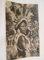 CPA - Océanie - Papouasie Nouvelle Guinée - Femme Vedette Grande Danse (Côté Sud Est) - Seins Nus - 1950 - SUP  (FC 84) - Papua Nuova Guinea