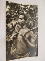 CPA - Océanie - Papouasie Nouvelle Guinée - Guerrier Montagnard - 1950 - SUP  (FC 85) - Papua Nuova Guinea
