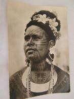 CPA - Grand Format - Océanie - Papouasie Nouvelle Guinée - Jeune Fille Tatouée (Roro) - 1950 - SUP  (FC 89) - Papua Nuova Guinea