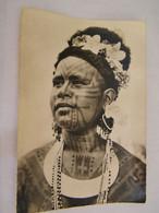 CPA - Grand Format - Océanie - Papouasie Nouvelle Guinée - Jeune Fille Tatouée (Roro) - 1950 - SUP  (FC 90) - Papua Nuova Guinea
