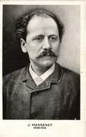 J MASSENET  1842 1912 RV - Chanteurs & Musiciens
