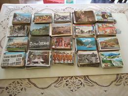 GROS LOT DE 2000 CARTES POSTALES ETRANGERE SEMI-MODERNE & MODERNE - 500 Postkaarten Min.