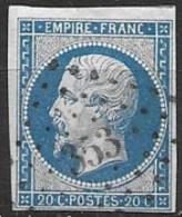 TP14,obl.,PC353,Belleme(ORNE),ind.4 - 1849-1876: Klassik