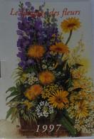 Petit Calendrier De Poche 1997 Le Langage Des Fleurs Fleuriste Le Theil Sur Huisne  Orne - 20 Pages - Formato Piccolo : 1991-00