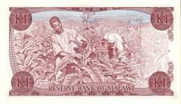 MALAWI P. 19b 1 K 1988 UNC - Malawi