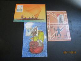 3 Cartes Maxi  De WALLIS - Covers & Documents