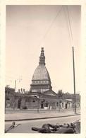 """2202 """"FOTO-TORINO MOLE ANTONELLIANA DOPO IL CICLONE  ANNO 1953 """" MISURE(7.00x11.50) - Lieux"""