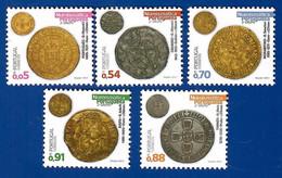 Portugal 09.06.2021 , Antike Münzen - Numismatica Portuguesa  2.° Grupo - Postfrisch / MNH / (**) - Unused Stamps