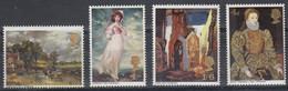 1967 Great Britain, Paintings Complete Set 4 Values MNH - British Indian Ocean Territory (BIOT)