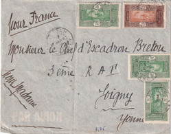 DAHOMEY 1938 LETTRE DE OUIDAH - Briefe U. Dokumente