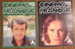 """Lot De 8 Revues """" Cinéma Français """" 1976 à 1977 - Cinéma/Télévision"""