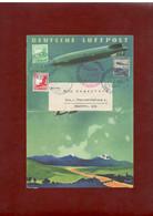 """LZ 129 7. Nordamerikafahrt Mit Original LZ 129 Kartenbrief """"Deutsche Luftpost"""" Nach Berlin 21.8.1936, Sehr Selten! - Briefe U. Dokumente"""