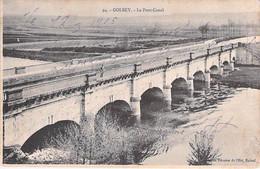 GOLBEY. Le Pont Canal. - Golbey