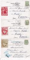 LOT/017.........5 CPA TIMBRES EXPOSITION LIEGE 1905 Sur CARTES DE BRUXELLES - 5 - 99 Postcards