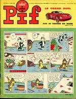 """Vaillant Le Journal De Pif N°1152 -  Nasdine Hodja """"L'Emir Cent-Tête"""" - Jacques Anquetil """"Homme Ou Surhomme"""" - Vaillant"""