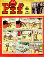 """Vaillant Le Journal De Pif N°1155 -  Récit Complet De Davy Crockett """"Le Verdict Du Dieu Fox"""" - Vaillant"""
