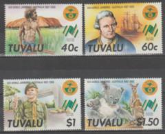 TUVALU  1987  **  MNH  YVERT  464/67  VALOR  7 € - Tuvalu