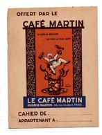 Protège-cahiersOffert Par Le Café Martin Le Café Le Meilleur Au Prix Le Plus Juste Et Table De Multiplication - Omslagen Van Boeken