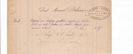 Facture Ferblantier COMPIN BESSON  à COURTENAY 45 Loiret - 1900 – 1949