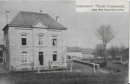 LIBRAMONT ..-- L' Ecole Communale . 1908 Vers CHENEE ( Mr Alphonse NOEL ) . Voir Verso . - Libramont-Chevigny