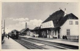 270 – Denmark Denmark – B&W PC - Venen Stationen – Railway Station – By H. Brunn-Mollers – Excellent Condition – 2 Scans - Denmark