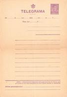 ROMÂNIA : TELEGRAMA - NEUZATA / TELEGRAMM - UNUSED / TÉLÉGRAMME -  2 LEI / MIHAI I ~ 1940 - '942 - RRR ! (ah463) - Entiers Postaux