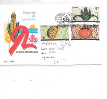 ESPAGNE N° 2644.2646.2648 LEGUMES - Gemüse