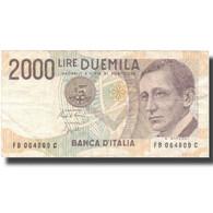 Billet, Italie, 2000 Lire, 1990-1992, Undated (1990-92), KM:115, TTB - 2000 Lire