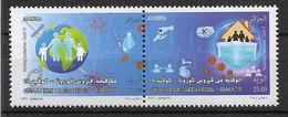 2021 ALGERIE Paire COVID ** - Algeria (1962-...)