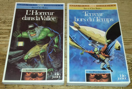 Les Portes Interdites (lot Des 2 Volumes) (LDVELH) - Jeux De Société