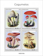 MOZAMBIQUE 2021 - Mushrooms. Official Issue [ MOZ210102a] - Mushrooms