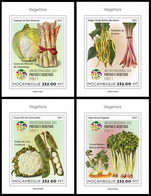 MOZAMBIQUE 2021 - Year Of Vegetables, 4 S/S. Official Issue [ MOZ210103b] - Gemüse