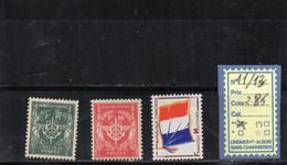 FM. N°11/13 - Franchise Stamps